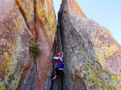 Rock Climbing Photo: Petit Crapon, a fun little climb.