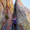 Petit Crapon, a fun little climb.