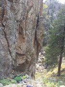 Rock Climbing Photo: This is Bobby's Wall, excellent climbing at th...