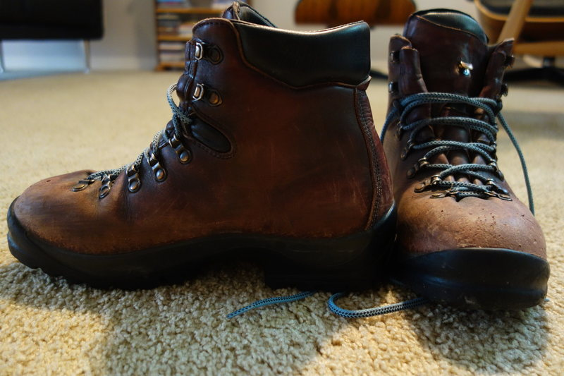 Rock Climbing Photo: Scarpa boots