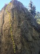 Rock Climbing Photo: Climbs through elongated holes