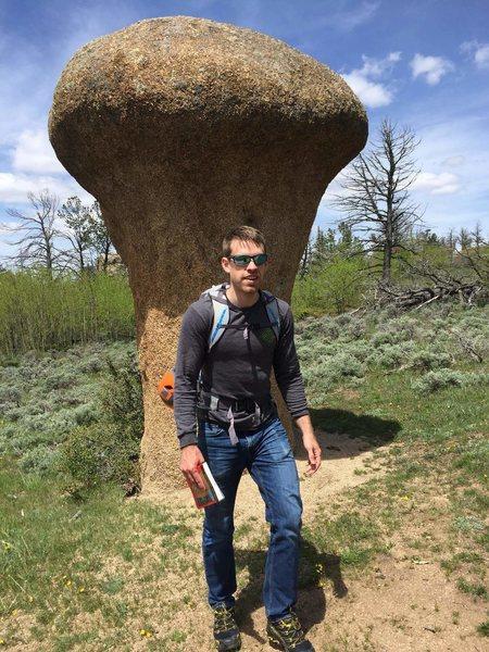 Rock Climbing Photo: Me in voo