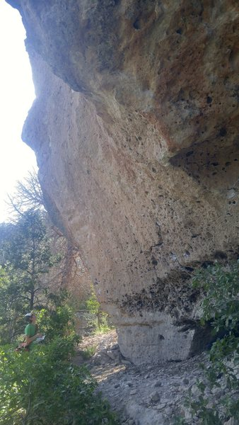 Poor photo of the south face