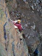 Rock Climbing Photo: Puttin' up Peace Treaty. PC: Ana Shestakova