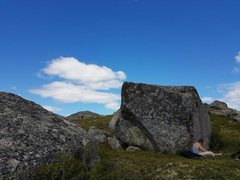 Rock Climbing Photo: Morning sesh on Goldi.