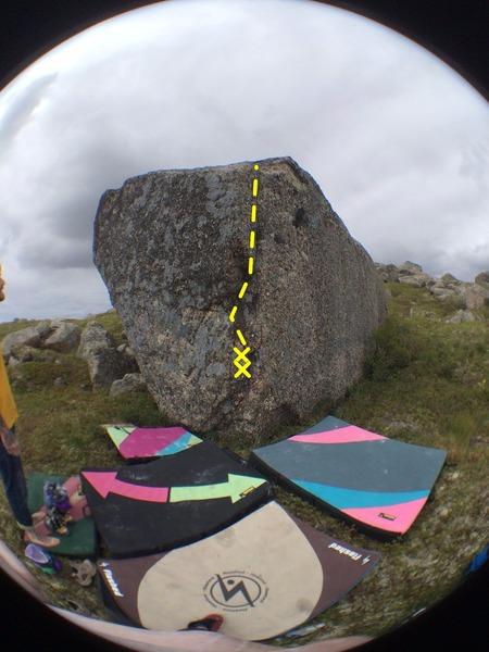 Rock Climbing Photo: Goldilocks