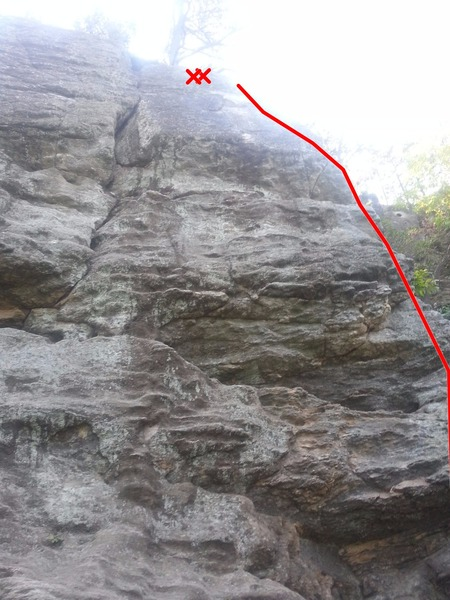 Rock Climbing Photo: Climb a plethora of holds up the arete