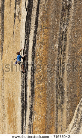 Rock Climbing Photo: What route is this?