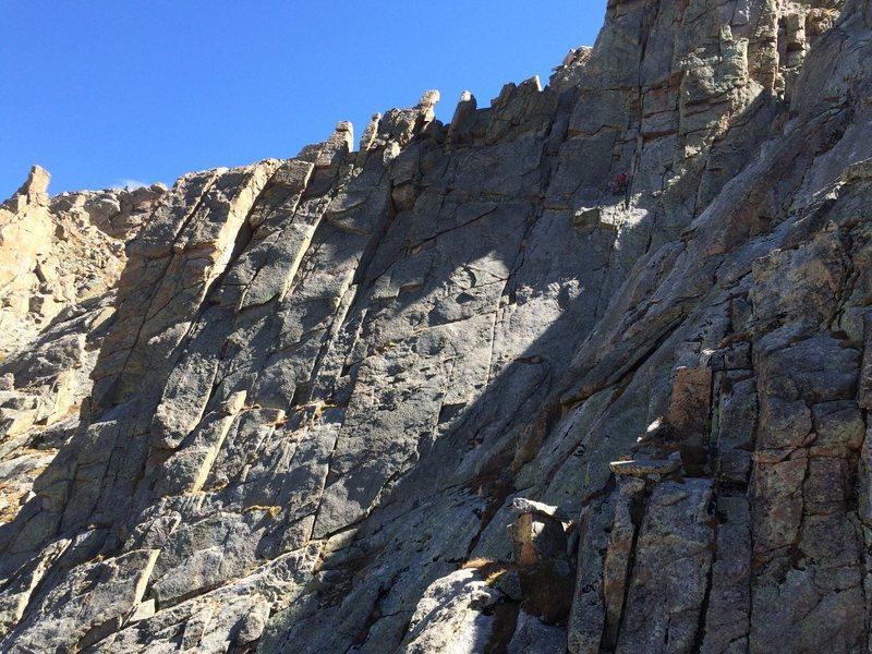 Rock Climbing Photo: Afternoon sun.