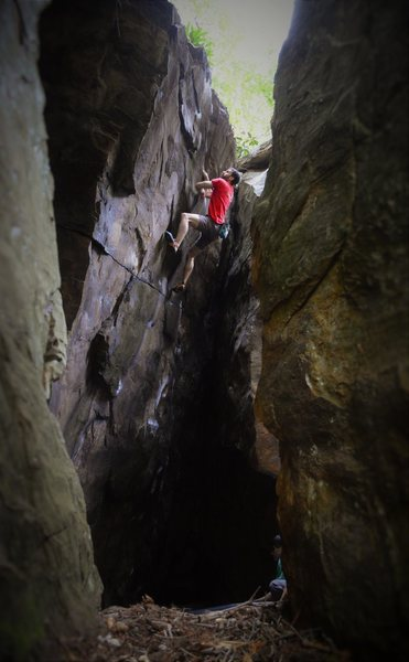 Aaron Parlier on the FA of Inner Beauty (V4/5)