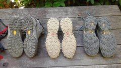 Rock Climbing Photo: shoe soles