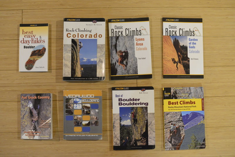 Rock Climbing Photo: Colorado Guidebooks Bundle