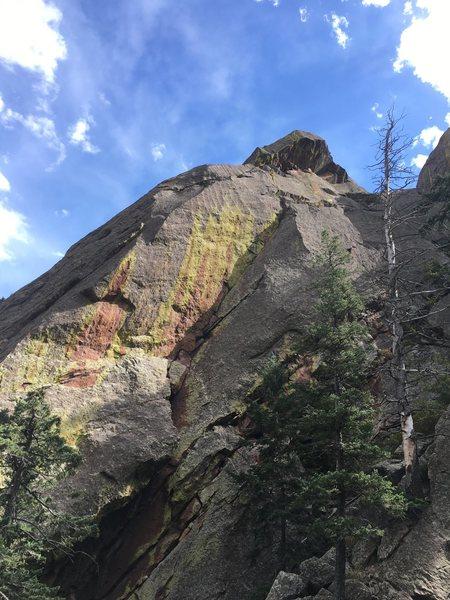 Rock Climbing Photo: Third Eye.