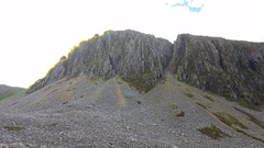 Rock Climbing Photo: Cyfrwy Arete from the approach