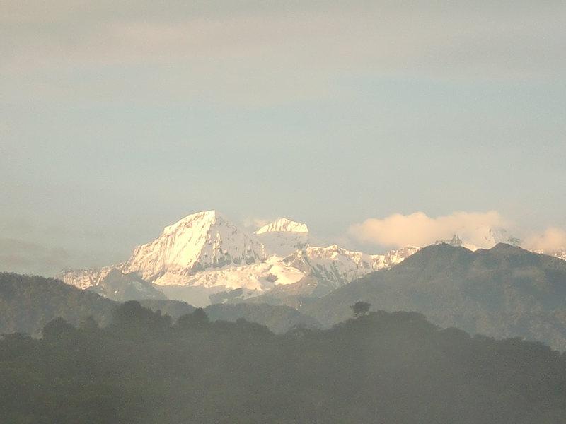 Rock Climbing Photo: snow peak