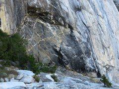 Rock Climbing Photo: East Ledges Descent: The Wild Dikes.