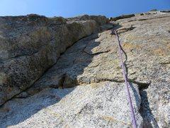 Rock Climbing Photo: Pitch 4: More 5.7 fun.