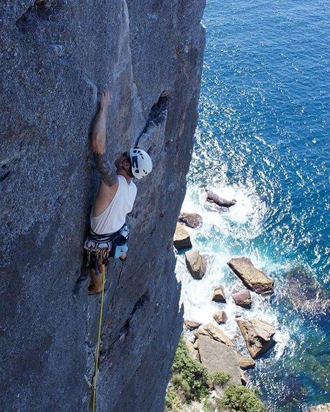 Rock Climbing Photo: Point Perpindicular, NSW, AUSTRALIA