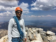 Rock Climbing Photo: Tetons