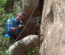 Rock Climbing Photo: What's up, Chuck?