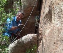 Rock Climbing Photo: What's up, Chuck?