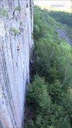 Rock Climbing Photo: TR free solo