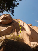 Rock Climbing Photo: The Devil's Trident. Fortunately, the start cl...