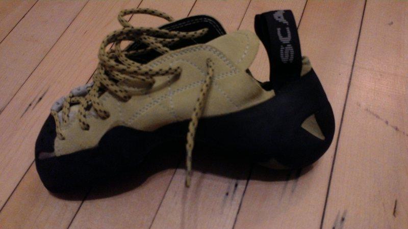 Rock Climbing Photo: Right shoe