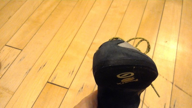 Rock Climbing Photo: Left shoe