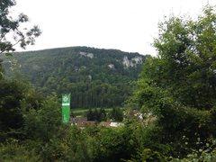 Rock Climbing Photo: A view of the German Alpine Club(DAV) hut on the a...