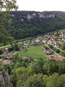 Rock Climbing Photo: A nice view of the village. Only gets better as yo...