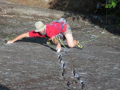 Rock Climbing Photo: Veracity (5.10a)