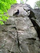 Rock Climbing Photo: WISWIG (5.11a).