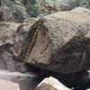 Boulder 30 minute hike up Big Wash.