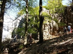 """Rock Climbing Photo: """"Rechter BEreich"""" or right most area whi..."""