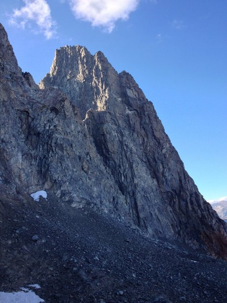Rock Climbing Photo: As seen from South Notch descent.