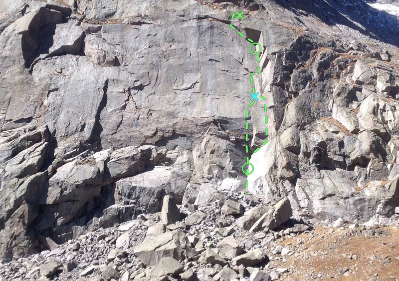 East Face, Jackass Pass, Cirque of Towers, Wyoming