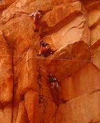 Rock Climbing Photo: In my day, we didn't have no high falutin'...