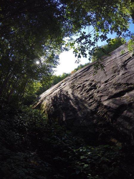 Rock Climbing Photo: Bald Hill Slabs