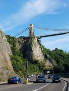 "Rock Climbing Photo: Suspension Bridge Buttress from the ""approach..."