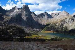Rock Climbing Photo: Wolf's Head, Pingora, and Lonesome Lake