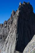 Rock Climbing Photo: E ridge of Wolf's Head as seen from Pingora