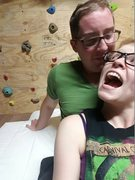 Rock Climbing Photo: and a picture of us