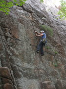 Rock Climbing Photo: S Matz on Retlaw