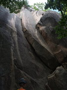 Rock Climbing Photo: Guide Wendy Eliot checks out (Left-to-Right): CT C...