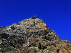 Rock Climbing Photo: SE ridge of the summit pyramid. If you are ok with...
