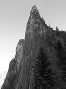 Rock Climbing Photo: Higher Cathedral Spire.