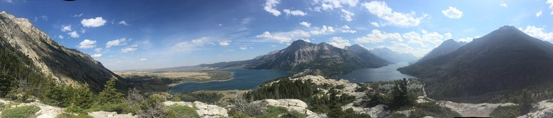 270 Degree Pano on top of Bears Hump in Waterton