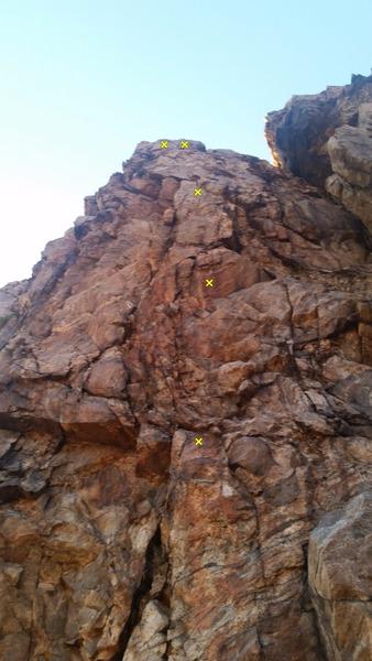 Rock Climbing Photo: Suck it up Princess.