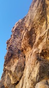 Rock Climbing Photo: This is the bottom half of the climb